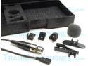 TR-TR50B-TA5F-ACC | Lavalier Mic, Black, With Mini 5pin Female XLR (TA5F) Connector, For Lectrosonics Wireless (M UM Series), Negative Bias, Includes Carrying Case & Six Mic Clips, Not Recommended For SM Series Or UM400A