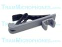 TR-GTB | Clip, Tie Bar With Alligator Clip, Gray, Accessory For Tram TR50g Lavalier Mics