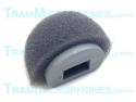 TR-GWS | Clip, Windscreen, Foam With Plastic Support, Gray, Accessory For Tram TR50g Lavalier Mics