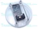TR-MC2 | Clip, Mic Cage, With Vampire Pin Back, Clear/Black, Accessory For Tram TR50 Lavalier Mics