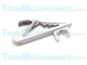 TR-WTB | Clip, Tie Bar With Alligator Clip, White, Accessory For Tram TR50W Lavalier Mics