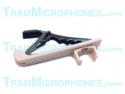 TR-TTB | Clip, Tie Bar With Alligator Clip, Tan/Flesh, Accessory For Tram TR50T Lavalier Mics